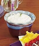 2-pc. Ceramic Dip Chillers- Purple