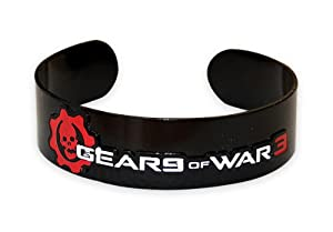 Gears of War 3 Armreif Black Logo aus Metall