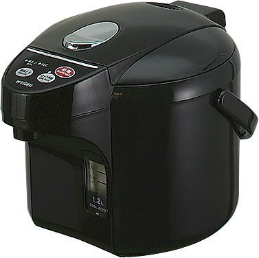 Tiger Micro Electric Kettle 1.2 L Off Black Pdm-A120-Kb By Tiger
