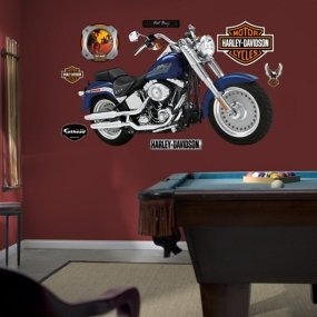 Amazon Com Fathead Harley Davidson Fat Boy Wall Graphic