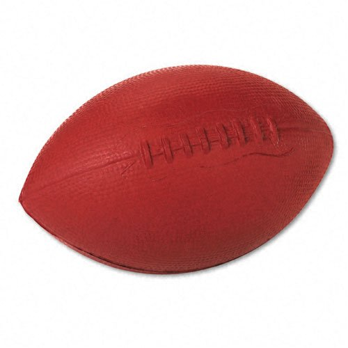 Champion Sports Products - Champion Sports - Football, Coated Foam, Brown - Sold As 1 Each - Fun and safe for indoor or outdoor play. - Allows play on all surfaces. - Ball is water-resistant.