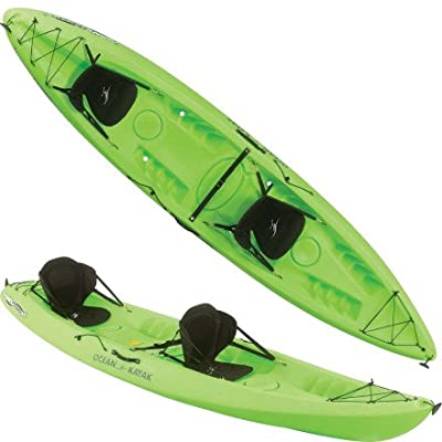 Johnson Outdoors 2 XL Tandem Sit-on-Top Ocean Kayak Malibu Kayaks