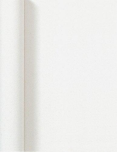 Duni Dunicel Tischdeckenrolle Weiß 1,25 m x 10 m, Tischdecke Weiß, Papiertischdecke Weiß, Tischdecke Hochzeit, Tischdeckenrolle, Tischdekoration Weiß
