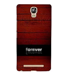 EPICCASE Forever Mobile Back Case Cover For Gionee Marathon M5 Plus (Designer Case)