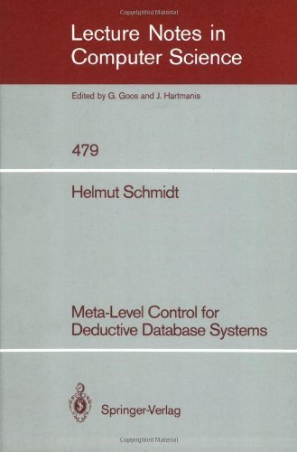 Meta-level control for deductive database systems [electronic resource]