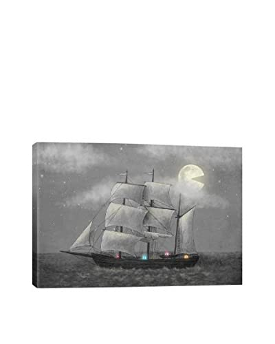 Terry Fan Ghost Ship Gallery-Wrapped Canvas Print