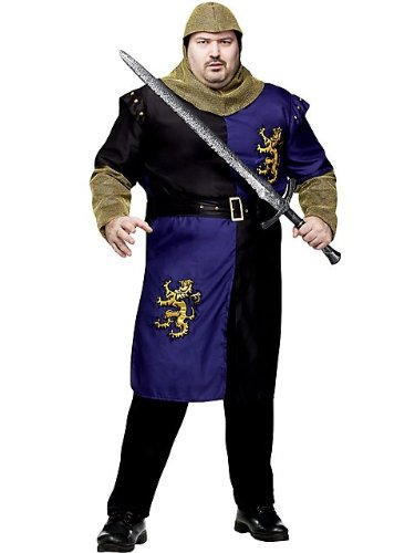 Men's Renaissance Knight Adult Plus Costume