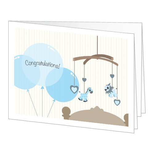Amazon Gift Card - Print - New Baby Boy (Balloons) front-553689
