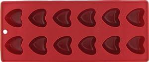 Mini Flexible Heart-Shaped Ice Cube Tray / Gelatin Mold