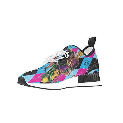 Fashoes Custom Monster High Draco Bonuce Running Mens Shoes (Monster High Customs)