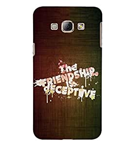 PRINTSWAG QUOTE Designer Back Cover Case for SAMSUNG GALAXY A8