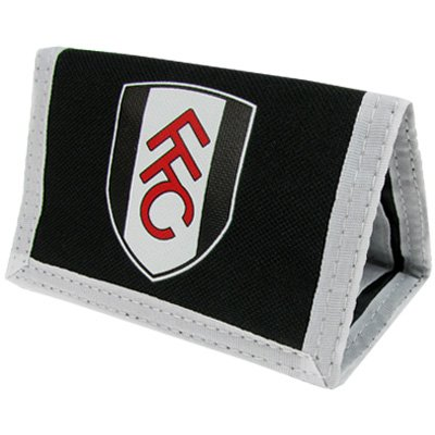 Official Fulham FC Nylon Wallet - A Great Christmas, Birthday, Valentine, Anniversary Gift For Husbands, Fathers, Sons, Boyfriends, Friends and Any Avid Fulham Football Club Fan Supporter