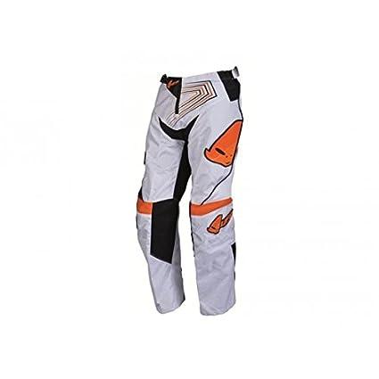 Pantalon ufo iconic kid orange/blanc 8-9 ans - Ufo 43301208