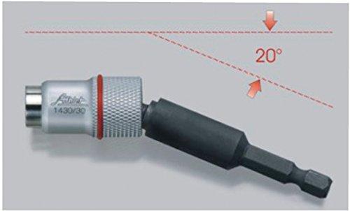 Profi-Magnetbithalter-Kugelkopf-Winkel-Magnet-Bithalter-Bit-Halterug-fr-Akkuschrauber-Schraubendreher