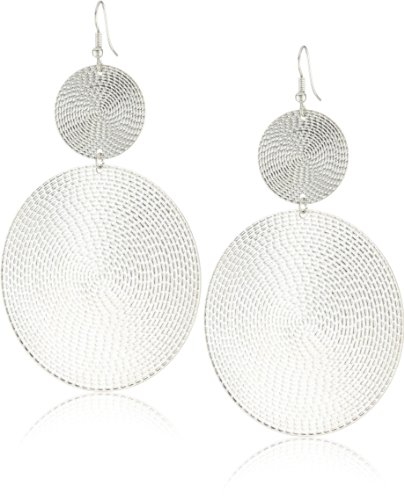 RAIN Silver-Tone Earrings