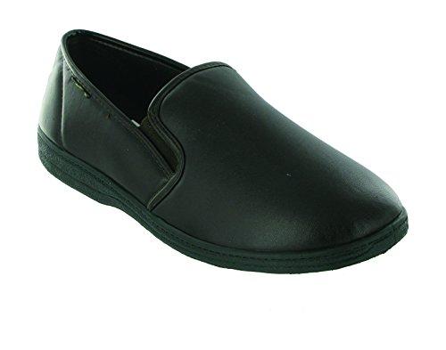 mirak-visa-slip-on-slipper-mens-slippers-classic-mens-slippers-8-uk-black