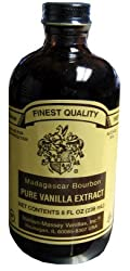 Vanilla Extract, Pure (Madagascar) 8 fl.oz.