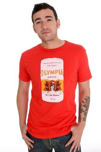 worn free kurt cobain olympia beer t shirt. Black Bedroom Furniture Sets. Home Design Ideas