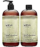 WEN Sweet Almond Mint Cleansing Conditioner 16 Oz 2 Pack Plus Free Pump