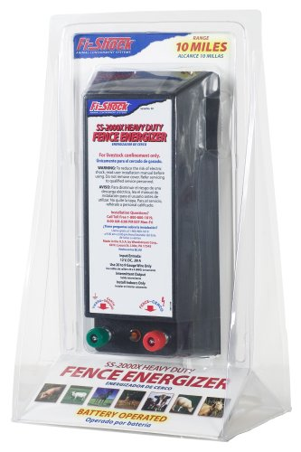 Fi-Shock SS-2000X Battery Powered 10 Mile Heavy Duty Fence Charger