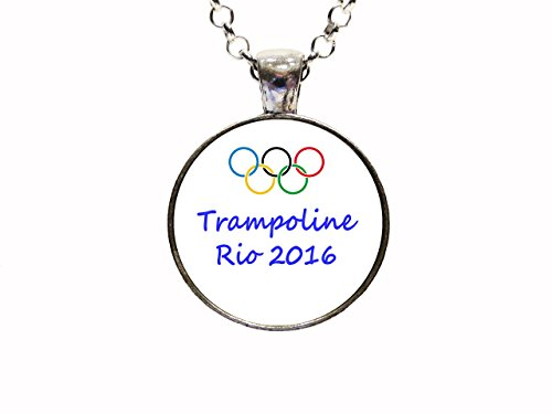 Trampoline-Olympic-Rio-2016-Pendant-Necklace-or-Keychain-Patriotic-Athlete-USA-American