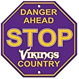 NFL Minnesota Vikings Stop Sign
