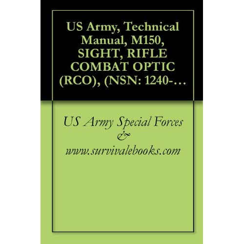 Image: US Army, Technical Manual, M150, SIGHT, RIFLE