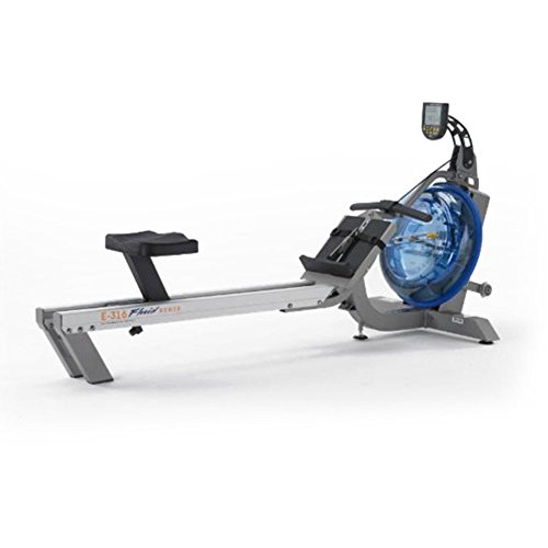 First Degree Fitness E-316 Fluid Water Rowing Machine