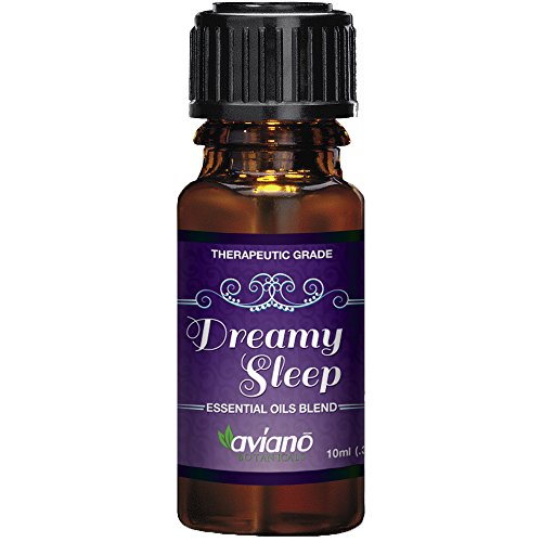 Dreamy Sleep Synergy Essential Oil Blend for Good Night - 100% Pure & Premium Essential Oil Blend By Aviano Botanicals