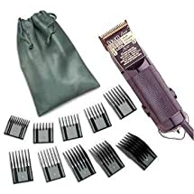 Combo New Oster Classic Power line from the 76 family Hair clipper Black (made in usa) Free (10 piece universal oster comb set)