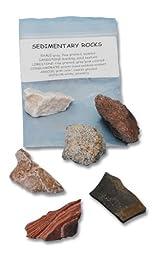 Scott Resources 6 Piece Economy Sedimentary Rock Collection Bag