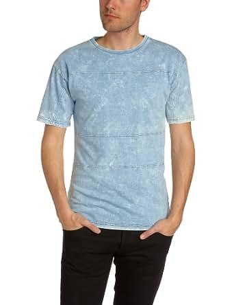 Gaspard Yurkievich - T-Shirt - Homme - Bleu (Used) - XS