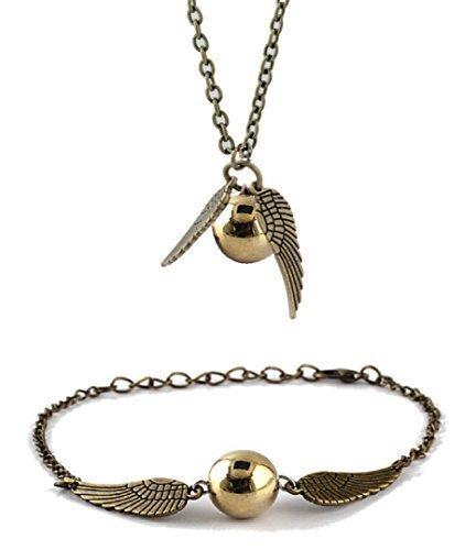 chamber37-bronce-de-angel-moderna-con-perlas-de-imitacion-oro-set-de-collar-y-pulsera-tobillera
