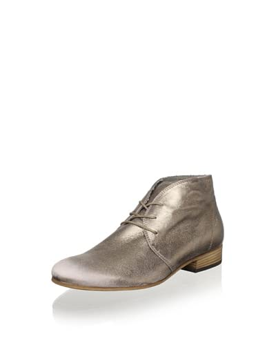 Vic Women's Mid Ankle Lace-Up Boot  - Bronze Metallic