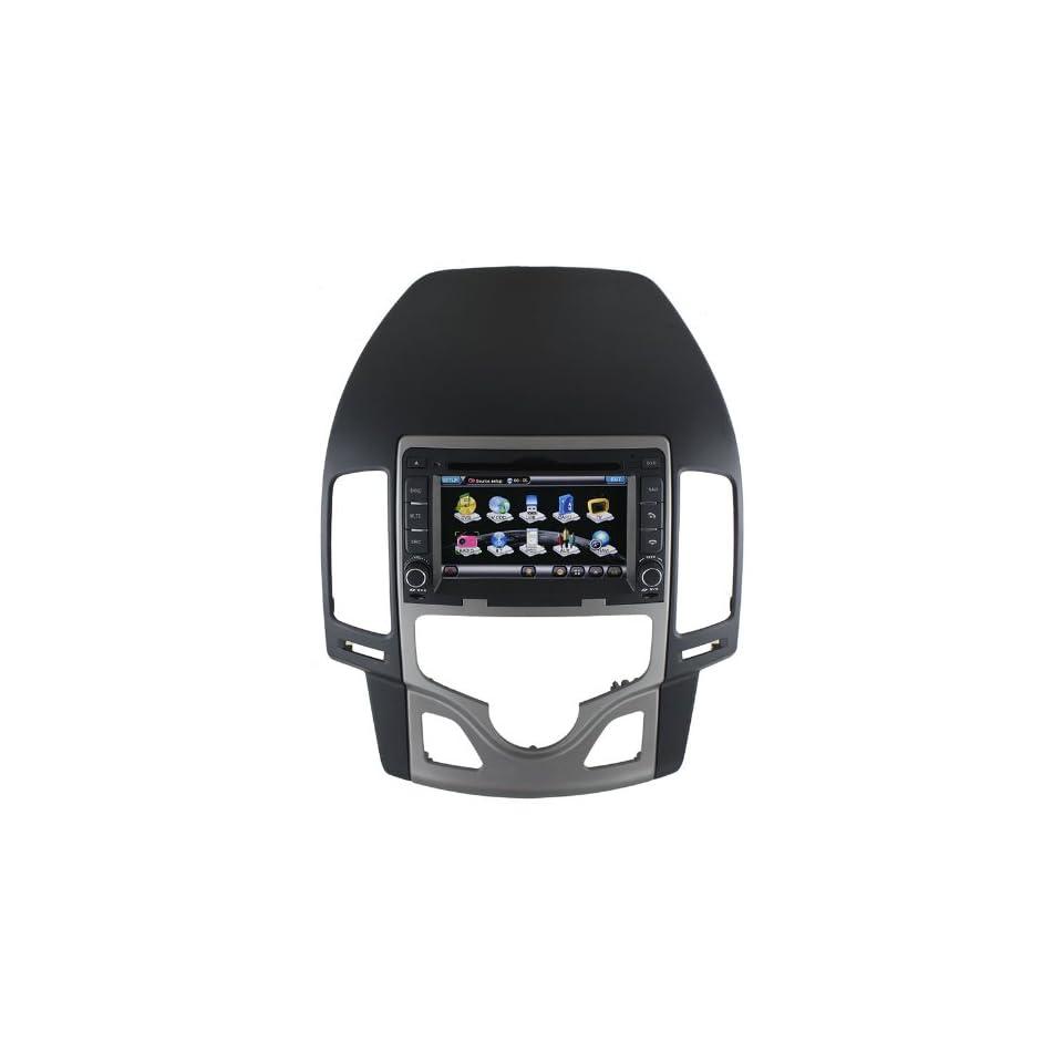Rupse 6.2 Zoll HD Touchscreen DVD GPS Navigation Player mit BT iPod