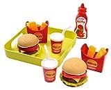 ECOIFFIER 4550957 Kitchen & food juguete de rol para niños - juguetes de rol para niños (Estuche de juego, Cocina y comida, Niño/niña, Multicolor)