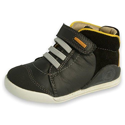 Garvalin - Pantofole a Stivaletto Unisex - Bambini , nero (nero), 28