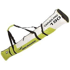 Buy Brubaker Carver Pro Single Ski Bag Padded with Zip Fastening by BRUBAKER