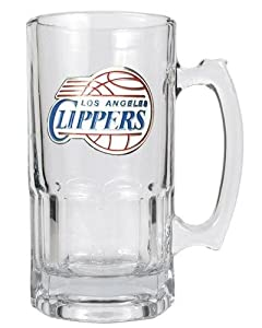 NBA Los Angeles Clippers 1 Liter Macho Mug - Primary Logo by Great American Products