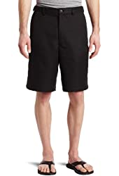 Haggar Men's Big-Tall Cool 18 Gabardine Hidden Expandable Waist Plain Short