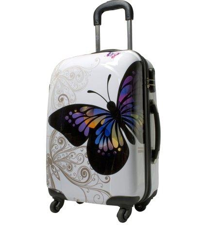 Kofferset 2 tlg. Trolley Reisekoffer ABS Hartschale