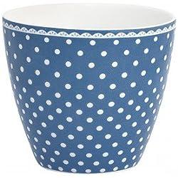 GreenGate Spot indigo Latte Cup