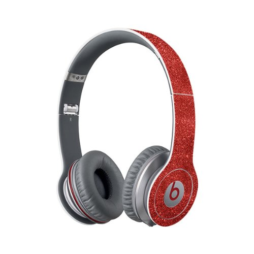 Beats Solo Full Headphone Wrap In Sparkling Red (Headphones Not Included)