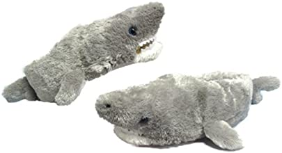 Wishpets 8quot Shark Slippers Plush Toy
