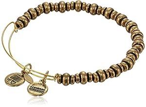 "Alex and Ani ""Bangle Bar"" Rafaelian Gold Finish Nile Bracelet"