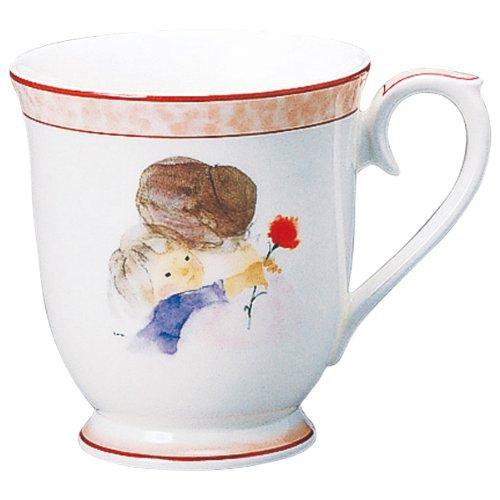 NARUMI(ナルミ) いわさきちひろ マグカップ(母の日) 290cc ボーンチャイナ 50429-2635