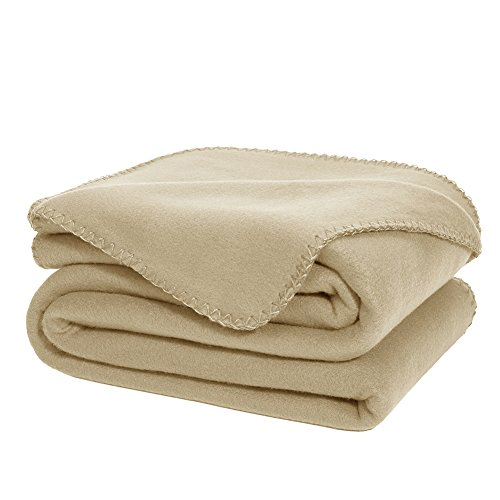 Why Choose DOZZZ Cozy Soft Microfleece Travel Oversized Throw Blanket for Sofa / Couch 70 X 50 Inche...