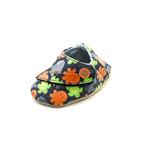 Stride Rite Aqua Adventure Crib Shoe (Infant/Toddler),Navy/Orange/Lime,2 M Us Infant