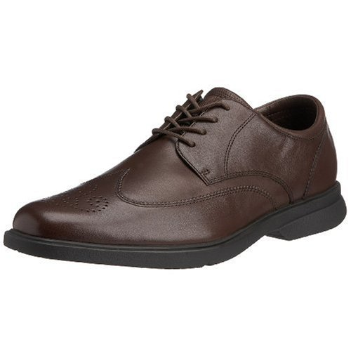 Rockport Men's Abraim Brogue Brown APM29932 8.5 UK