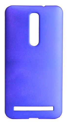 ASUS ZenFone 2 スリムフィットケース AIR SLIM DESIGN [ ZE551ML / ZE550ML 5.5インチ SIMフリー LTE 楽天モバイル版 対応 ] 薄型軽量デザイン16g ワンタッチ装着 Slim Fit Cover Case PCハード素材MY WAY 専用パッケージ:全7色 (ASUS ZenFone 2 (ZE551ML), Blue (青))